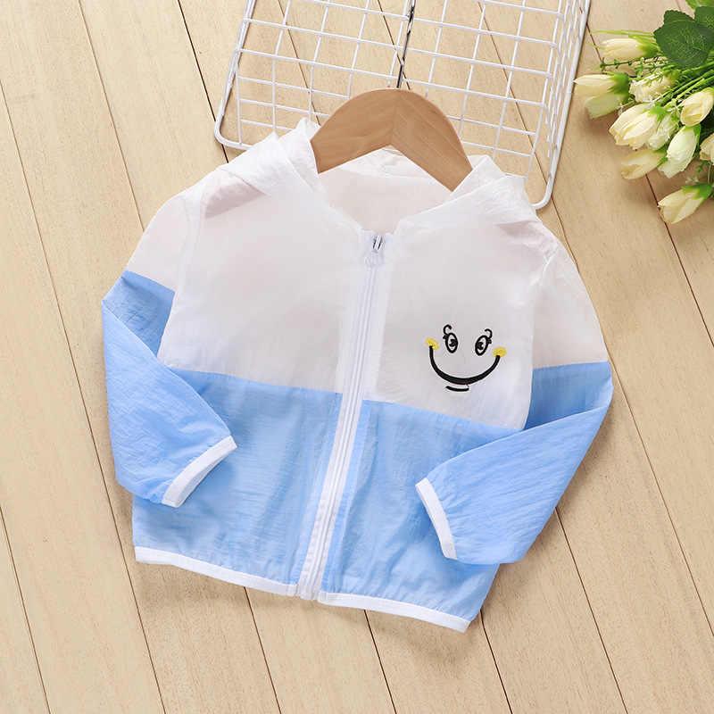 DIIMUUใหม่แฟชั่นฤดูร้อนฤดูใบไม้ผลิเด็กชายหญิงเสื้อผ้าHoodies Sunป้องกันเสื้อผ้าเด็กCasual Beachเสื้อแจ็คเก็ต