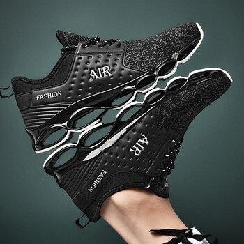 2020 New Men's Shoes Men's Casual Shoes Blade Shoes Men's Breathable Sneakers Shoesfashion Zapatillas Deportivas Plus Size 39-47