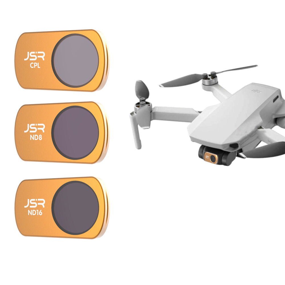Drone Camera Accessories For DJI Mavic Mini Lens Protector Filter Polar CPL+ND8+ND16 Filters Neutral Density Set For Mavic Mini