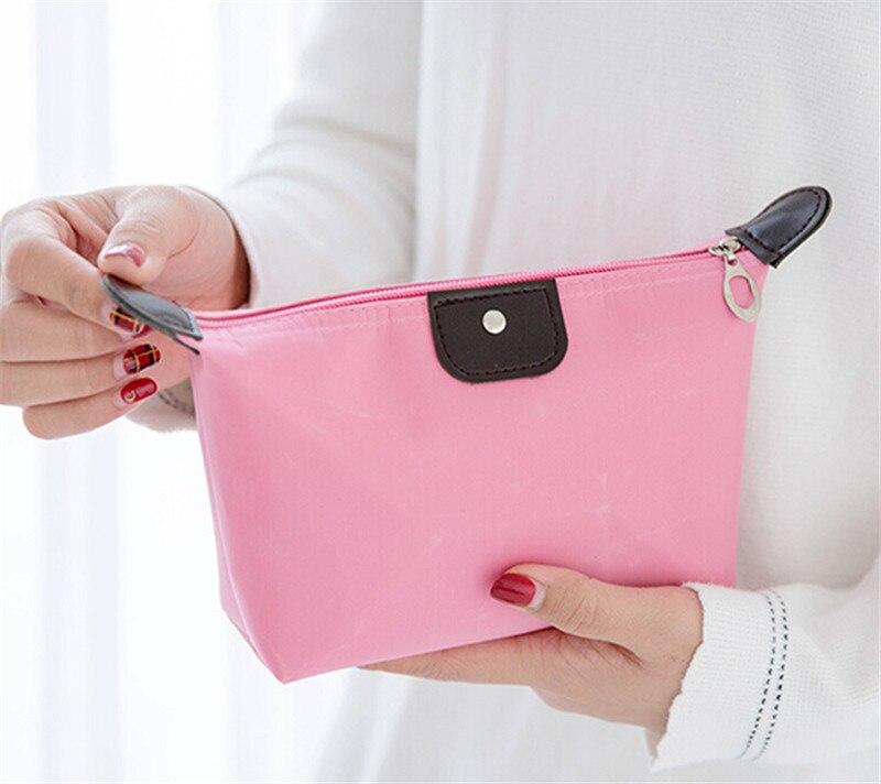 Waterproof Cosmetic Makeup Bag Pencil Case Storage Pouch Purse Handbag Travel Canvas Make Up Bags  /BL1