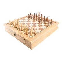 Деревянный Шахматный набор с высококачественной шахматной доской