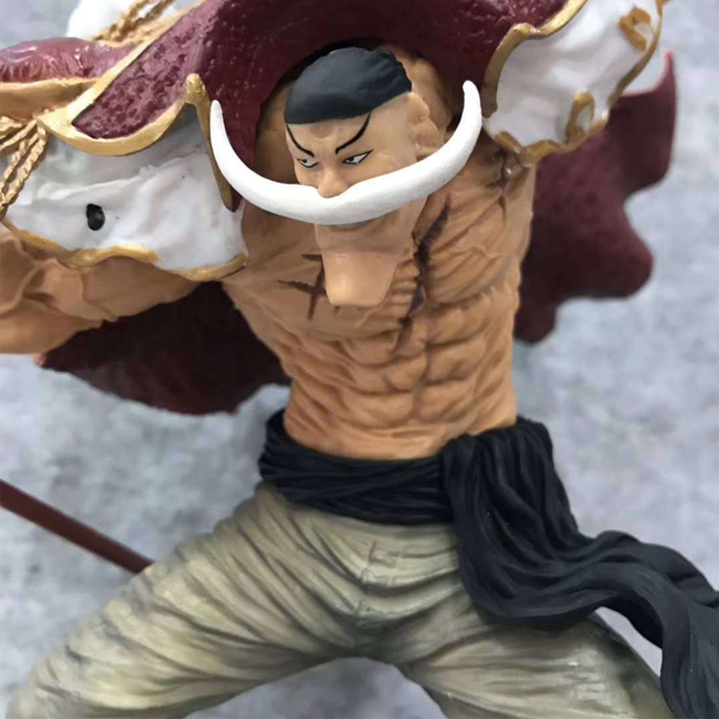 Anime One Piece Model 20th Anniversary 20th Figure Overseas Edition SC Ace Daddy White <font><b>Beard</b></font> Hand Office Aberdeen Collection image