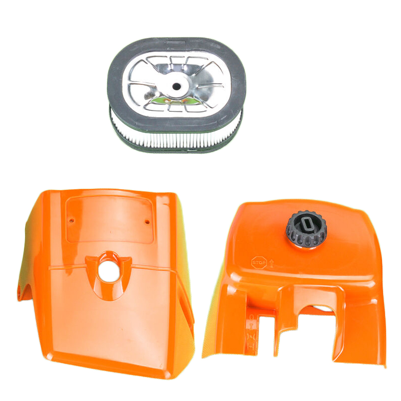 Top Cylinder Covers Shroud Air Filter Kit For STIHL <font><b>MS660</b></font> 066 Chainsaws <font><b>Parts</b></font> Home Garden Equipment accessories image