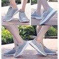 Новые мужские кроссовки с сеткой  ультра-светильник  удобная дышащая Спортивная обувь для лета