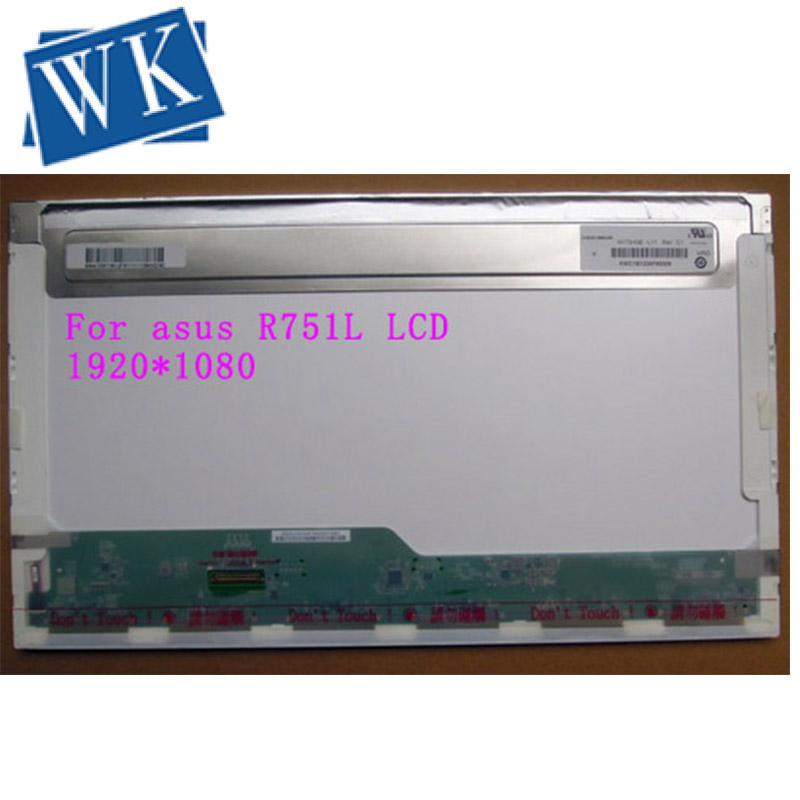 LCD Screen N173HGE-L11 For Asus R751L  FHD 1920X1080 Matrix For Laptop 17.3