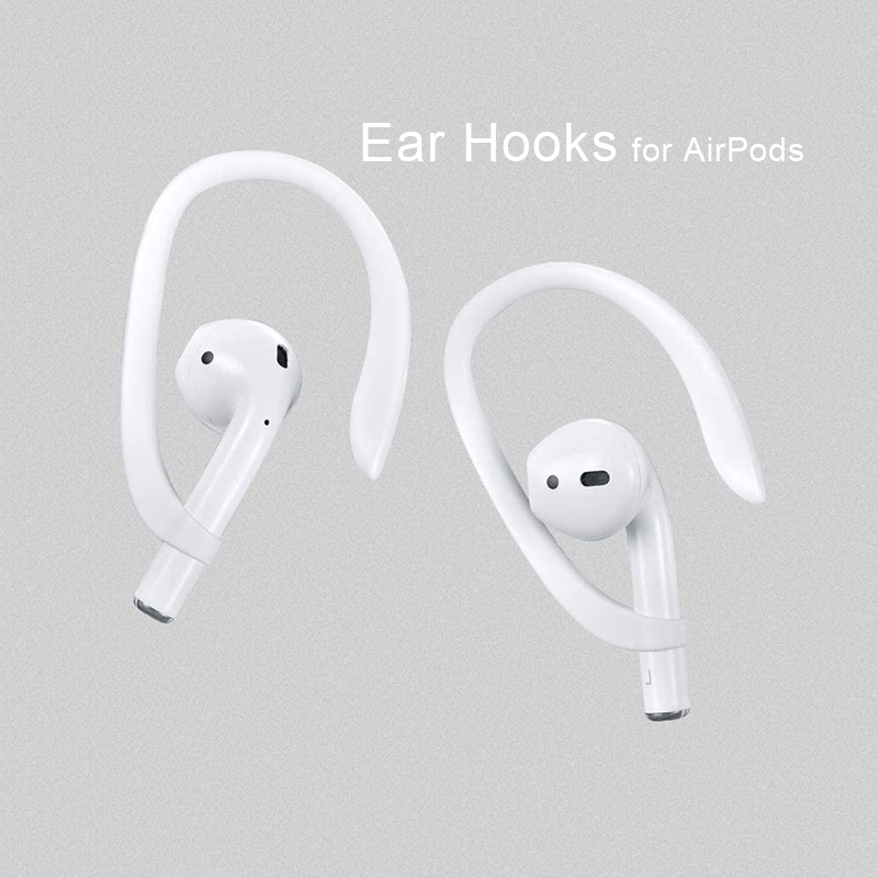 1 Pair Ear Hooks for Apple AirPods Accessory Anti-lost Bluetooth Headphone Earphone Holder for Air Pods Pro Protective Earhooks
