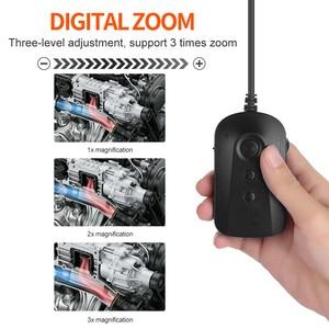 Image 5 - WiFi 5.5mm 1080P HD Borescope פיקוח מצלמה עבור iPhone אנדרואיד 2MP חצי קשיח נחש מצלמה לבדיקת מנוע מנוע ביוב