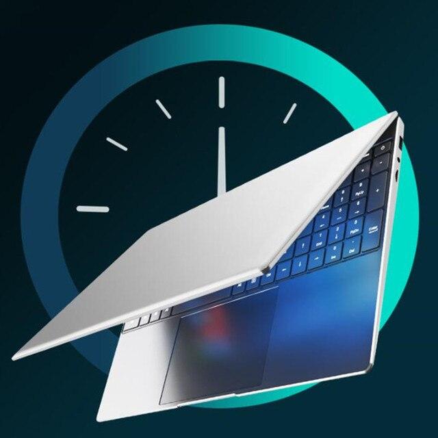 NWNLAP Laptop 14.1 inch Intel J3455 Quad core 8GB 256GB SSD 7mm Thickness 5mm Narrow Bezel Backlit Notebook 2
