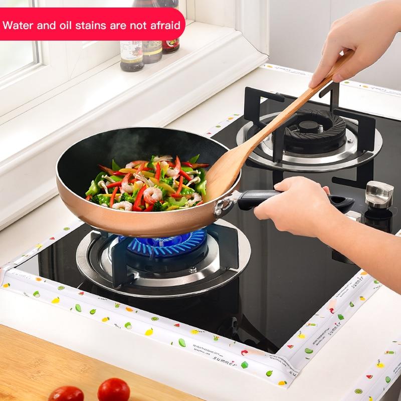 Kitchen Sink Waterproof Sticker Anti-mold Waterproof Tape Bathroom Countertop Toilet Gap Self-adhesive Seam Stickers 2