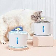 Fuente de agua para gato, cuenco para perro, bebedero automático USB para mascotas, bebedero súper silencioso