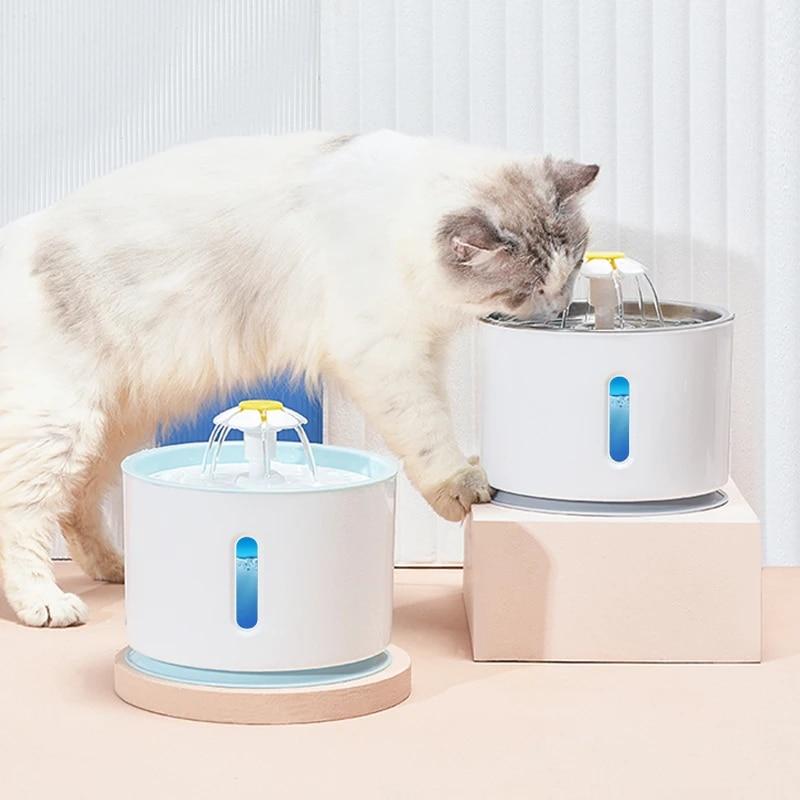 автоматическая питьевая чаша поилка для кошек и собак