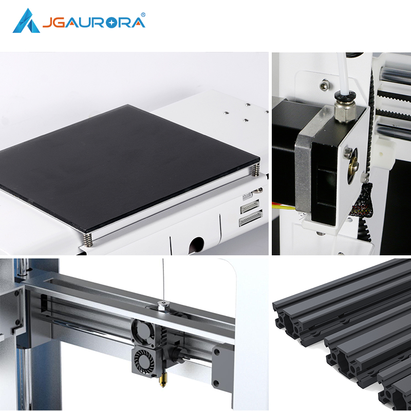 JGAURORA A3S 3D Printer Updated Prusa Ramps with Large Build Size Ship from Factory Directly or USA/UK/Germany/Russia Warehouse 6