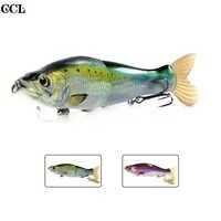 CCLTBA 14cm 33g Glide Shad Fishing Lures Magnetic System Suspending Soft Tail Hard Wobbler Rattle Slide Swimbait Fishing Bait