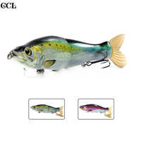 CCLTBA 14cm 33g Glide Shad Fishing Lures Magnetic System Suspending Soft Tail Hard Wobbler Rattle Slide Swimbait Fishing Bait