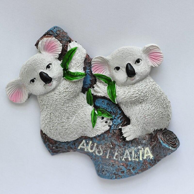 Renards Koala Superstore Magnets de r/éfrig/érateur en Verre de Dessin anim/é Mignon Magnets d/écoratifs de Bureau /à Domicile 10 pi/èces