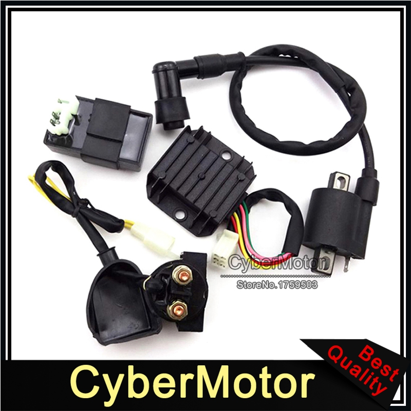 Racing Ignition Coil CDI Regulator Rectifier Relay 150cc 200cc 250cc ATV Taotao