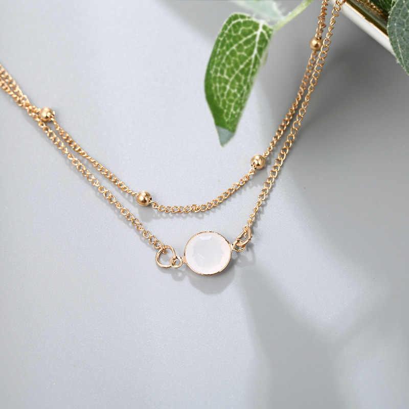 Цепочка на лодыжку с золотым и серебряным покрытием и браслет Многослойные Свадебные бусины для невесты ножной браслет для ног украшения для женщин и девочек