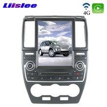 Land Rover Freelander 2 için LR2 L359 2005 ~ 2014 Liislee araba multimedya oynatıcı CarPlay NAVI 10.4 inç araba radyo DSP GPS navigasyon