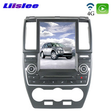 Reproductor Multimedia para Land Rover Freelander 2 LR2 L359 2005 ~ 2014 Liislee, reproductor Multimedia para coche CarPlay NAVI 10,4 pulgadas DSP de navegación GPS con Radio