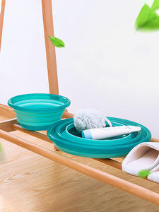 Spoon Basins Accessories-Item Bathroom-Products Foldable Collapsible Household Wash Plastic