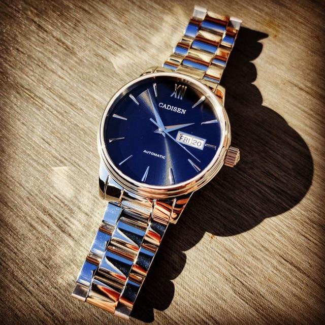 Фото мужские наручные часы cadisen спортивные водонепроницаемые с цена