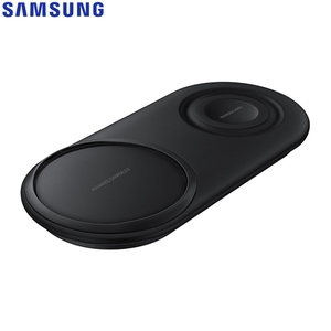 Image 3 - Fast QI Wireless Charger Dual Pad EP P5200 For Samsung Galaxy Note8 Note9 Watch Gear S2 Huawei Mate20 Pro Xiaomi 9 Iphone XR Max