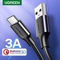 Ugreen USB Type C Кабель USB С Быстрой Зарядки Кабель для Передачи Данных Type-C USB Зарядное Устройство Кабель для NEXUS 5X  6