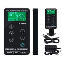 ใหม่ TATTOO Power Supply HP 2 อัพเกรดหน้าจอสัมผัส TP 5 อัจฉริยะดิจิตอล LCD แต่งหน้า Dual TATTOO Power ชุดอุปกรณ์