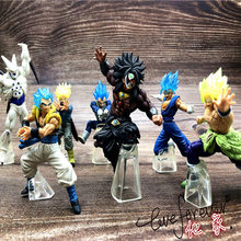 NOVO Anime Dragon Ball Z Goku Fighers Manga Príncipe Vegeta Trunks Super Saiyan Goku Gohan Action Figure Modelo Coleção Toy presente(China)