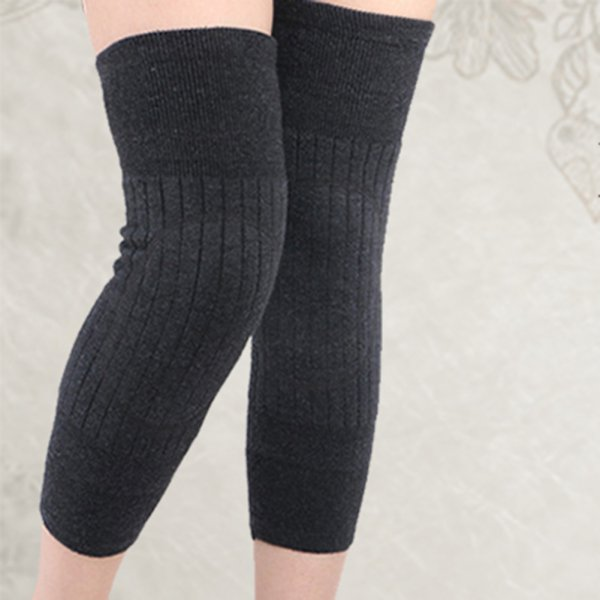Women Knee Sleeve Winter Warm Female Knee Protecter Women Fashion Knee Socks