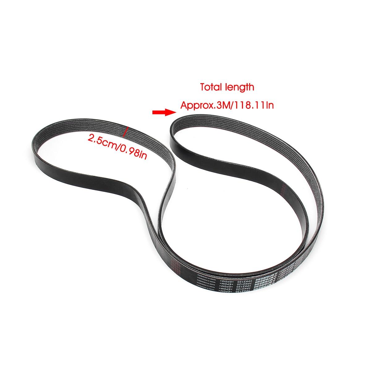 Serpentine Belt Driver Belt Tensioner Pulley Kit For Toyota 2