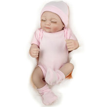 8 styles high quality Realistic Newborn Baby Doll Silicone Reborn Girl Beautiful Real Looking Lifelike Dolls dropshipping(China)