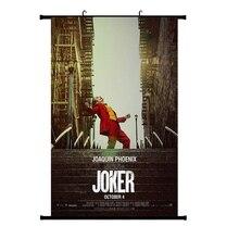 Фильм Джокер Шелковый плакат Джокер происхождения фильм Художественная печать комиксы Настенный декор домашние картины Бэтмен враг фильм плакаты