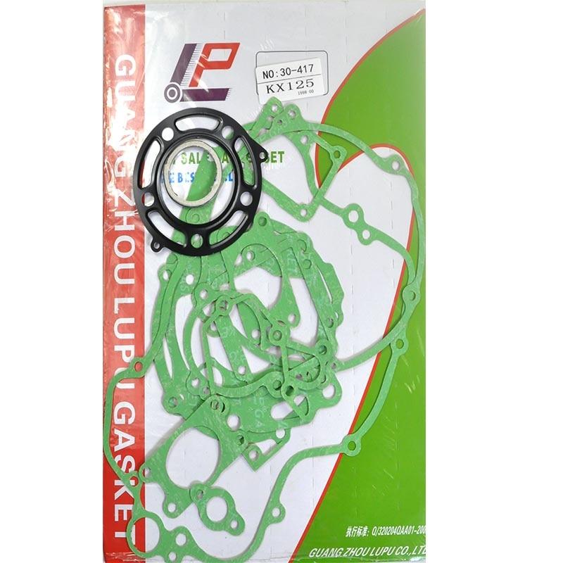 Joint de reconstruction de moteur de moto pour Kawasaki KX125 1998 2000 kits de reconstruction de couvercle de carter de cylindre|Kits de reconstruction de moteur| |  -