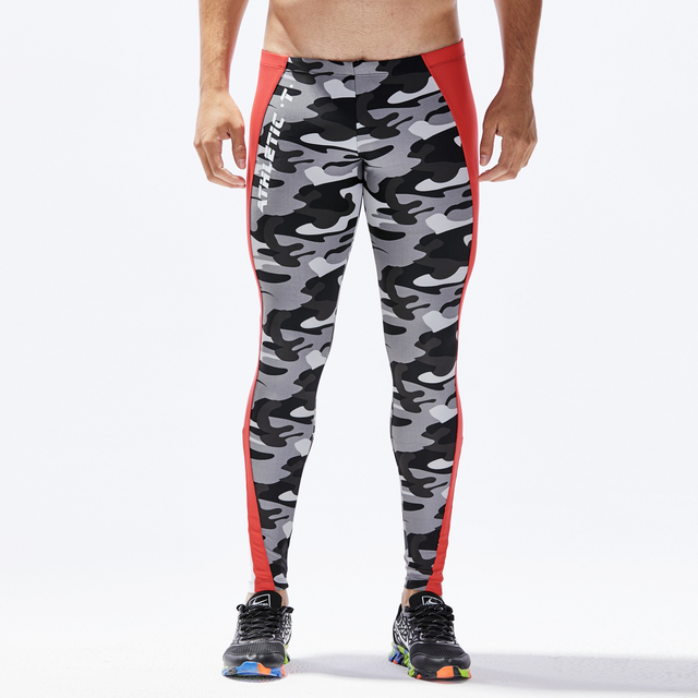 Man's lounge pants home and out door pants Military Army Camo Stretch Workout Tights Camouflage casual Fitness Long Pants 5