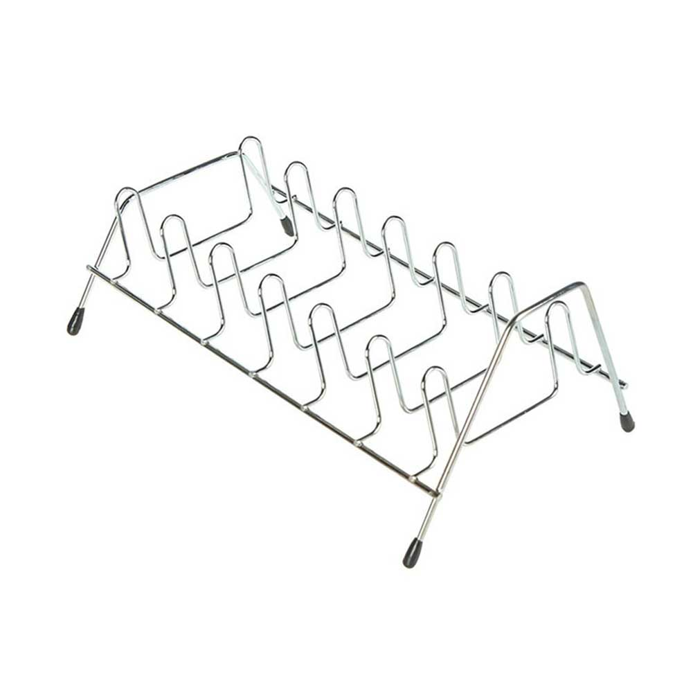 Holder Shelf-Pot Stand-Bowl Drain-Rack Cabinet-Pan Dish-Wire Storage Kitchen Home-Organizer title=