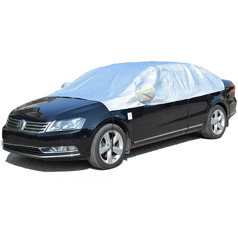 Evrensel araba gövde kapağı suv Sedan araba aksesuarları kar koruma araba kılıfı