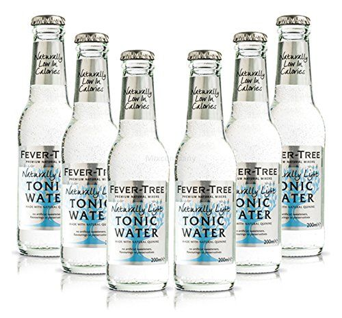 Fever-Tree Naturally Light Tonic Water Set – 6 X 200 ML Con Deposito MEHRWEG