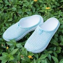 womens sandals 2020 Summer Sandals Fashion Hollow Out Breathable Beach Slippers Flip Flops EVA Massage Slippers Sandals D200