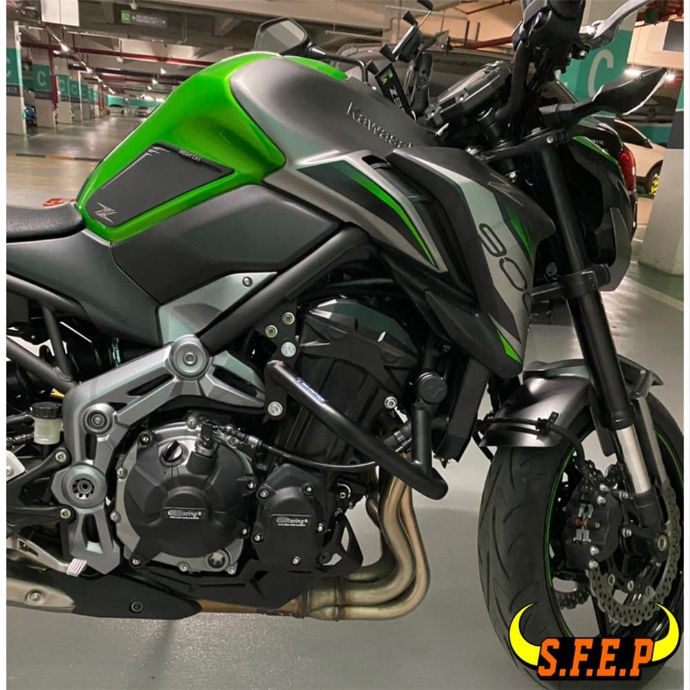 Caso do motor da motocicleta guarda protetor