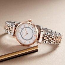 NIBOSI reloj Rosa nuevo para mujer, de cuarzo, de negocios, de pulsera, femenino