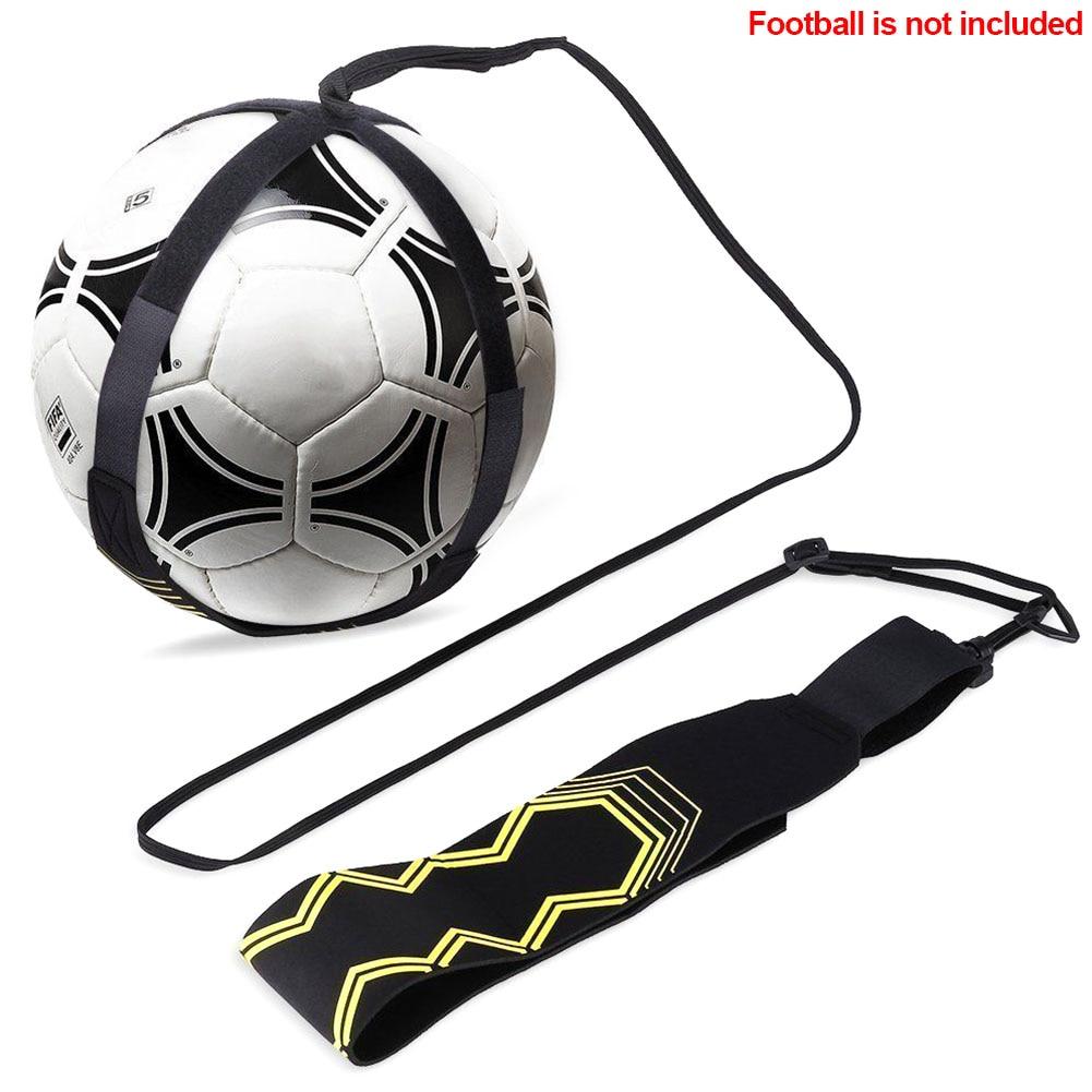Adjustable Tool Football Strap Training Aid Practice Control Skills Elastic Returner Durable Soccer Trainer Kick Ball Neoprene