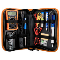 Electric Soldering Iron Temperature Adjustable Electric Soldering Iron Kit Portable Welding Repair Tool|Hand Tool Sets|Tools -