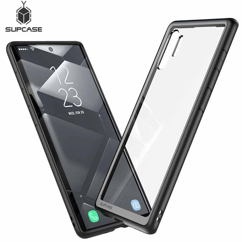 For Samsung Galaxy Note 10Plus Case (2019 Release) SUPCASE UB Style Premium Hybrid TPU Bumper Protective Clear PC Back Cover