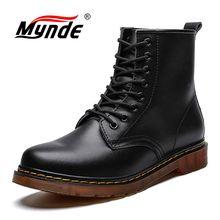 Новые брендовые кожаные ботильоны; сезон осень-зима; мужские ботинки; модные ботинки в байкерском стиле; уличные рабочие зимние ботинки; мужская обувь