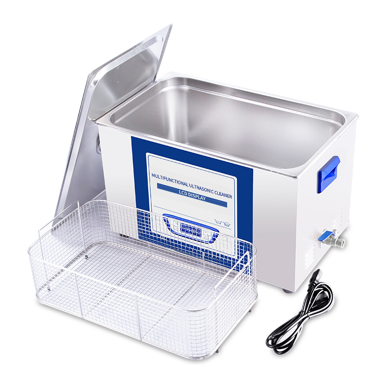 Image 5 - YULU 1.3L Ultrasonic Cleaner Sweep Frequency Degass ultrasonic washing glasses watch razor jewelry cleaning with LCD screen-in Ultrasonic Cleaners from Home Appliances