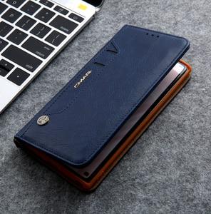 Image 3 - Gizli rotasyon kartları tutucu cüzdan kılıf Samsung S20 Ultra not 10 + 8 9 S8 S9 S10 artı S7 kenar Flip deri telefon kılıfı çapa
