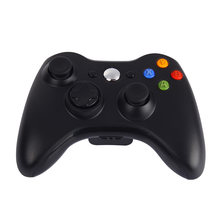 2.4GHz Wireless Gamepad Premium Quality Fine Black Joypad Controller Game Joystick Pad for Xbox 360 Game(China)