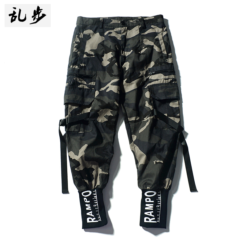 Autumn Trousers Loose Thin Big Size Motorcycle Winter Pants Aesthetic Bodybuilding Trousers Calca Cargo Masculina New GG50ck075