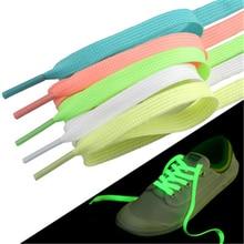 Светящиеся 1 пара 120 см модные спортивные игрушки Аксессуары шнурки светится в темноте улучшают манипуляционные возможности подарок для детей